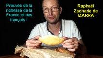 Preuves de la richesse de la France et des français ! Raphaël Zacharie de IZARRA