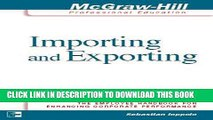 [PDF] Importing and Exporting: 24 Lessons to Get You Started Full Colection
