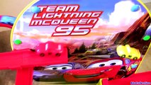 Flying Disney Pixar Cars Team Lightning McQueen Race Track Speedway Ultimate Playset Cars2