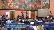 Prefeita de Roma retira apoio à candidatura da cidade para os Jogos de 2024
