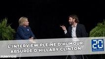 L'interview pleine d'humour absurde de Clinton par Zach Galifianakis