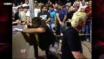 Cactus Jack vs Sandman (ECW Barbed Wire Match)