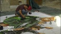 Street art : Embellissement du tunnel Wilbur-Wright au Mans