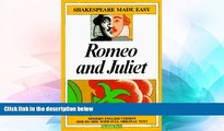 Big Deals  Romeo and Juliet (Shakespeare Made Easy)  Best Seller Books Best Seller