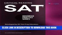 [PDF] SAT Critical Reading Workbook (Advanced Practice Series) (Volume 4) Popular Colection