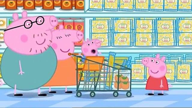 Peppa Pig Season 1 Episode 41 in English - Shopping