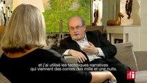 """Salman Rushdie et son nouveau roman """"Deux ans, huit mois et vingt-huit nuits"""""""