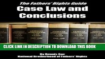 [PDF] Case Law and Conclusions: A Fathers Rights Guide (Case Law and Conclusions for Fathers