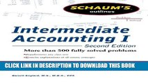 Collection Book Schaums Outline of Intermediate Accounting I, Second Edition (Schaum s Outlines)