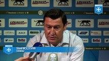 Viorel Moldovan avant AJ Auxerre -Le Havre