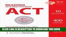 New Book ACT Reading Practice Book (Advanced Practice Series) (Volume 5)