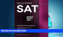 eBook Download SAT Critical Reading Workbook (Advanced Practice Series) (Volume 4)
