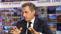 """Sarkozy ironise sur les propos de Juppé: """"Qu'il ne se gêne pas pour relever le débat"""""""