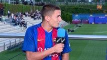 FCB Masia: Gerard López i Palencia a la presentación del futbol formatiu [CAT]