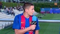 FCB Masía: Gerard López y Palencia en la presentación del fútbol formativo [ESP]