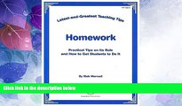 Must Have PDF  Latest   Greatest Teaching Tips: Homework Foldout (Latest-and-Greatest Teaching