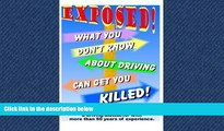 Enjoyed Read What You Don t Know About Driving Can Get You Killed: An expose of phony traffic laws