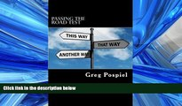 Popular Book Passing the Road Test  Step by Step Guide to Passing Your Road Test