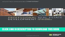 [PDF] Professional Real Estate Development: The ULI Guide to the Business Popular Online