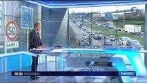 Des policiers belges interpellés en France après avoir déposé des migrants