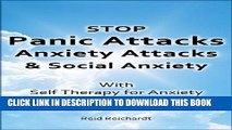 Collection Book Stop Panic Attacks, Anxiety Attacks, and Social Anxiety with Self Therapy for