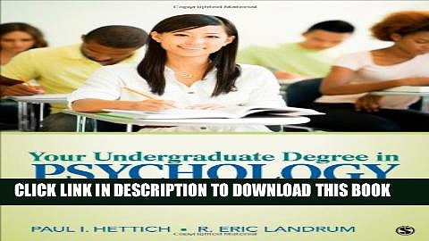 [PDF] Your Undergraduate Degree in Psychology: From College to Career Full Colection