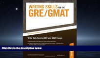 Popular Book Writing Skills for the GRE and GMAT Tests