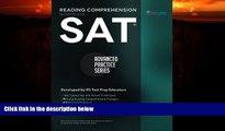 Big Deals  SAT Reading Comprehension Workbook: Advanced Practice Series (Volume 1)  Best Seller