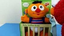 Sesame Street Baby Sniffles Ernie & Elmo Ernie has a slimy yucky Nose!