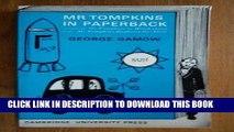 [PDF] Mr Tompkins in Paperback: Comprising  Mr Tompkins in Wonderland  and  Mr Tompkins Explores