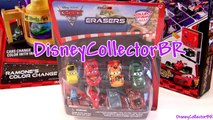 Cars 2 Erasers 8-pack Disney Pixar Luigi, Guido, Mater, Lightning Mcqueen, Miguel Camino car-toys