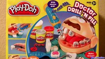 Play Doh Doctor Drill N Fill Set El Dentista Bromista - Dottor Trapanino - Le Dentiste Play Dough