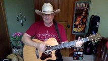 2084 Here For A Good Time George Strait vocal & acoustic guitar cover & chords