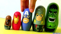 Marvel the Avengers Stacking Cups Disney Nesting Toys Surprise Hulk, Nick Fury, Iron Man Baby Toys