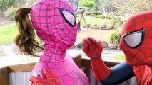 Spiderman Vs Spidergirl - Superhero Battle! w_ Hulk and Joker Superhero Time Adventures Episode 3_5!-r51UaCnaWcc part 3