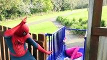 Spiderman Vs Spidergirl - Superhero Battle! w_ Hulk and Joker Superhero Time Adventures Episode 3_5!-r51UaCnaWcc part 4