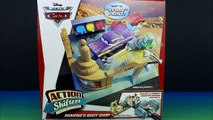Cars Action Shifters Connectable Playsets Ramones Body Shop Lightning McQueen & Mater Paint