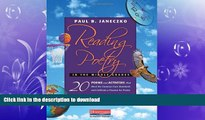 FAVORITE BOOK  Reading Poetry in the Middle Grades: 20 Poems and Activities That Meet the Common