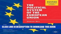 [PDF] The Political System of the European Union, 2nd Edition (The European Union Series) Popular