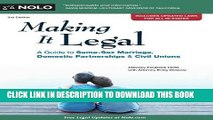 [PDF] Making It Legal: A Guide to Same-Sex Marriage, Domestic Partnerships   Civil Unions [Full
