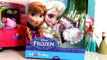 Play Doh Disney Frozen Anna Elsa Magiclip Design a Dress - Pâte à Modeler La Reine des Neiges Elsa