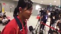 SEA Games 2015 - Phỏng vấn Nguyễn Thị Ánh Viên sau khi phá kỉ lục tại SEA Games 28