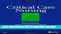 [PDF] Critical Care Nursing: Diagnosis and Management, 6e (Thelans Critical Care Nursing