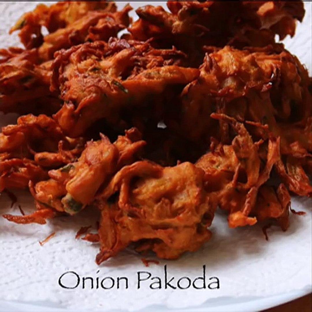 onion pakoda recipe - pakora recipe - YouTube