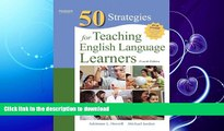 READ BOOK  Fifty Strategies for Teaching English Language Learners (4th Edition) (Teaching