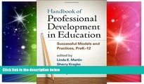 Must Have PDF  Handbook of Professional Development in Education: Successful Models and Practices,
