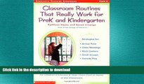 READ  Classroom Routines That Really Work for Pre-K and Kindergarten: Dozens of Other Routines