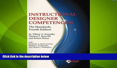 Big Deals Instructional Designer Competencies The Standards Fourth Edition Ibstpi Book Best Video Dailymotion
