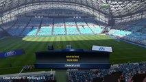 FIFA17 : l'entrée des joueurs lors d'un OM-PSG au Vélodrome !