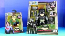 Batman Vs. Superman Metals Die-Cast Light Up Armored Batman Battles Superman Toy